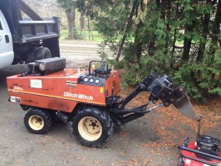 1998 Ditch Witch 255sx Vibratory Plow W/boring Feature photo