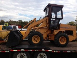 Case W - 4 Articulating Mini Pay Loader 37 Hp photo