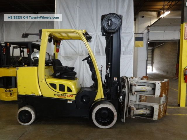 Hydraulic Lift Cushion : Hyster s ft lb cushion lift truck way