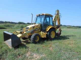 2001 Holland Lb90 Backhoe, photo