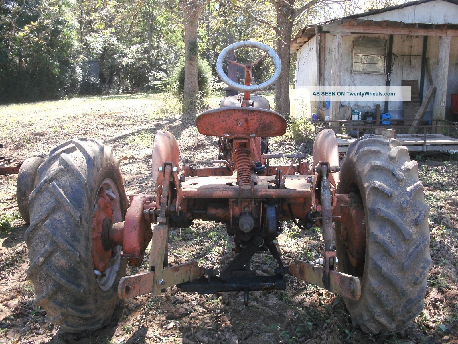 Antique Two Wheel Tractor : Antique tractor