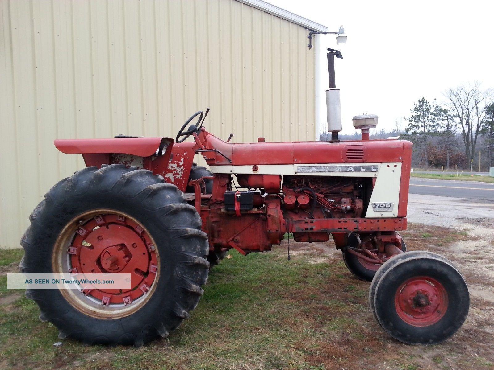 Ih Farmall 706 Diesel Tractor