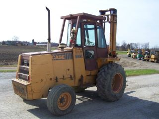 Case 586e Forklift photo