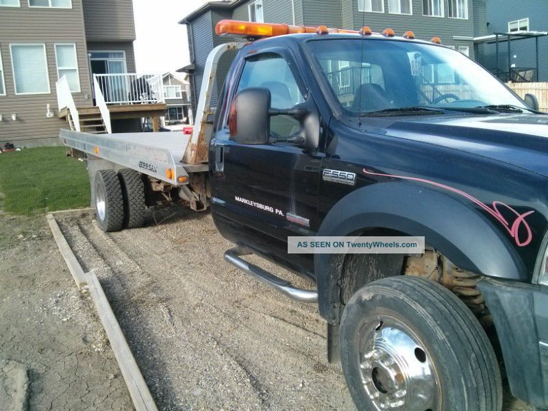 F550 Rollback Tow Truck Flatbeds & Rollbacks photo