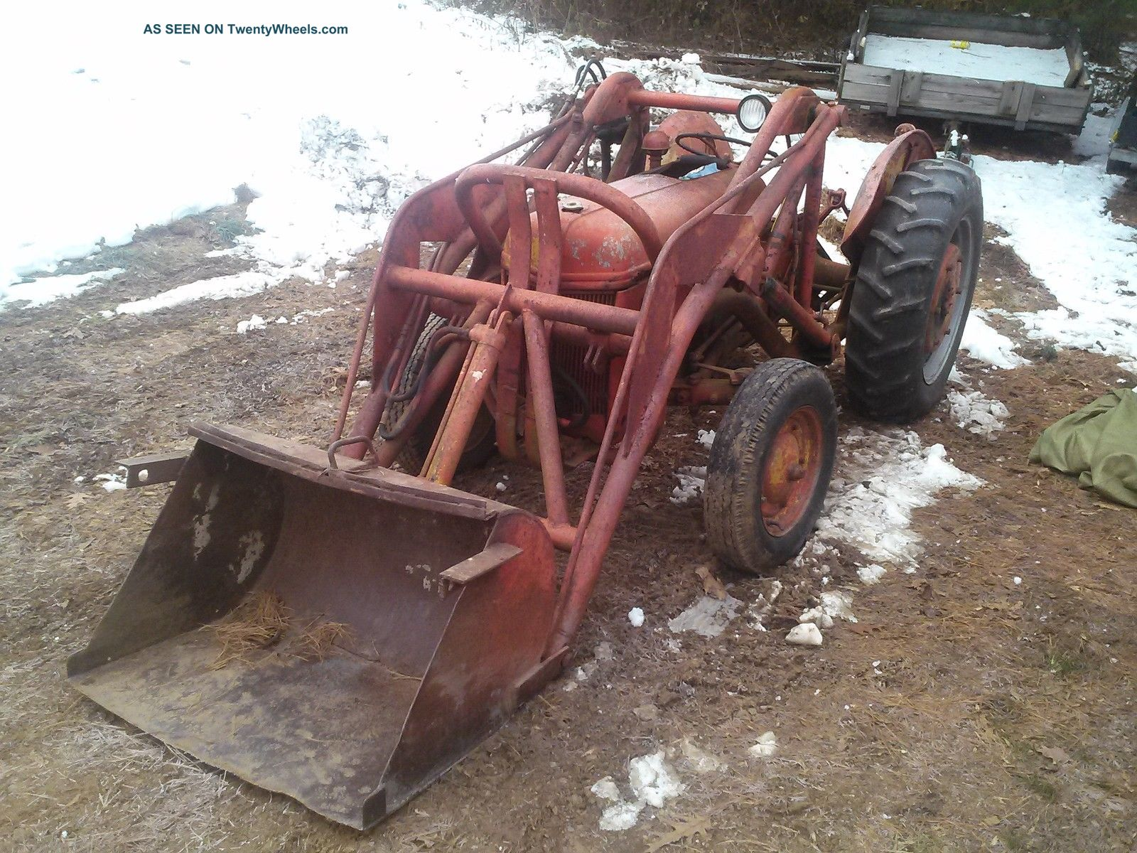 Ford 9n Loader : Ford n tractor with loader pick up only