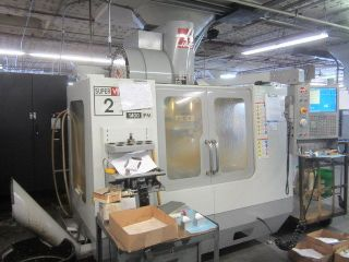 Haas Vf - 2ss Cnc Machining Center 4thaxis Pre - Wire Usb Port Intutitive Program photo