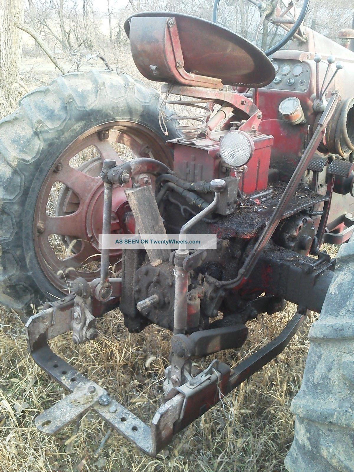 Tractor Live Pto : Ih ihc farmall tractor straight barn find live pto t a