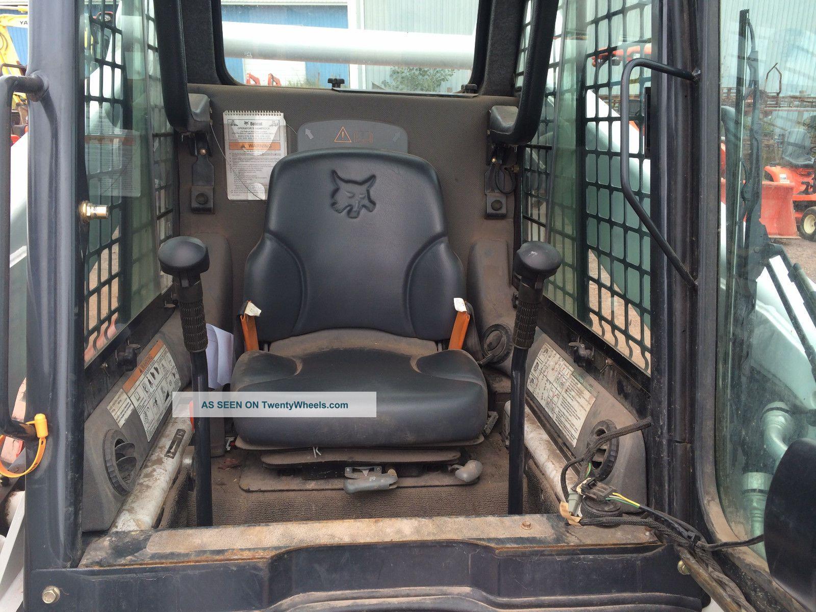 2010 Bobcat S250 Skid Steer Loader Cab Heat Air Pre Emmision