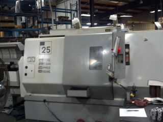 Haas Tl - 25bb Big Bore Cnc Turning Center Sub Spindle Live Tool 40hp 4