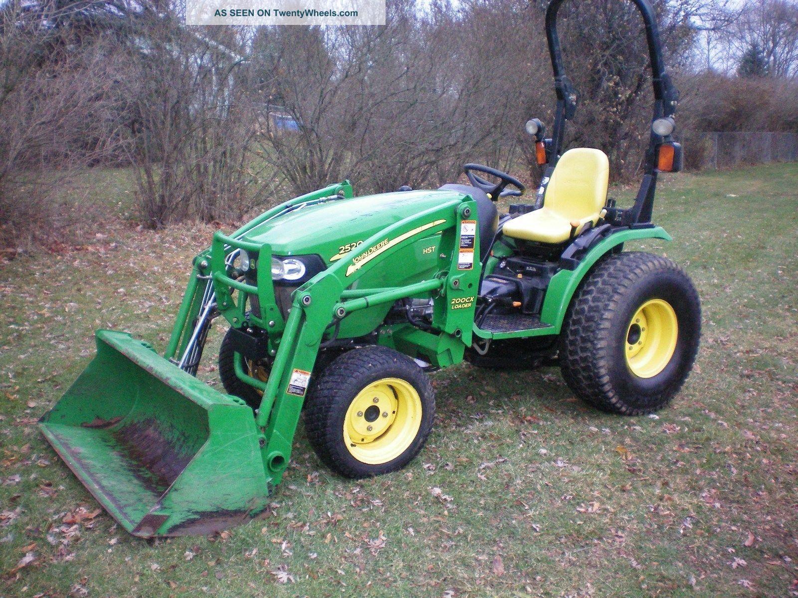John Deere Compact Tractor Attachments : John deere tractor compact loader mower