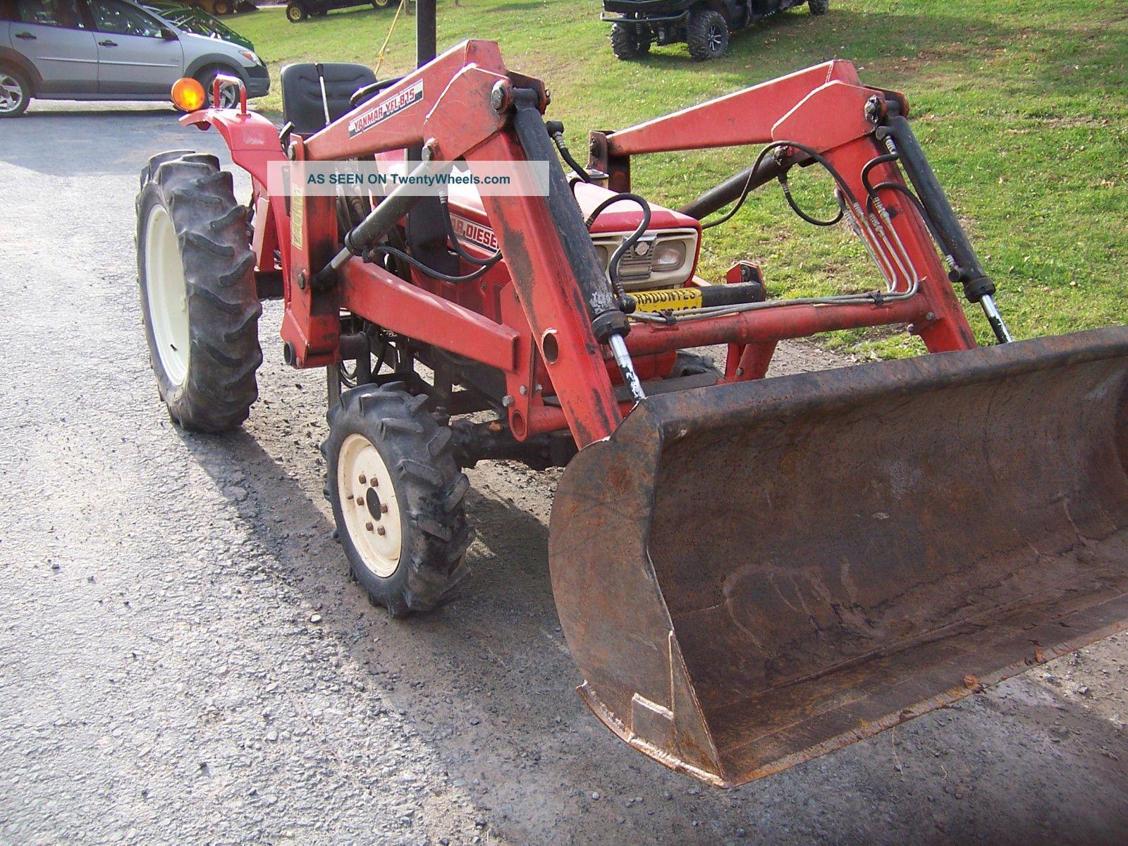 Antique Yanmar Tractors : Yanmar ym d tractor loader