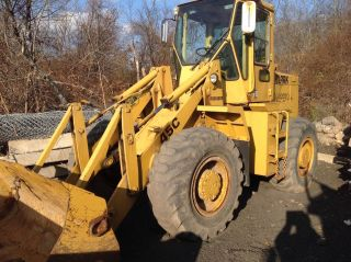 Clark Michigan 45c Wheel Loader Great For Snow Removal photo