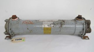 American Industrial Aa - 1024 - 2 - 6 - Fp Four Pass Fluid Heat Exchanger 1.  5 In B456589 photo