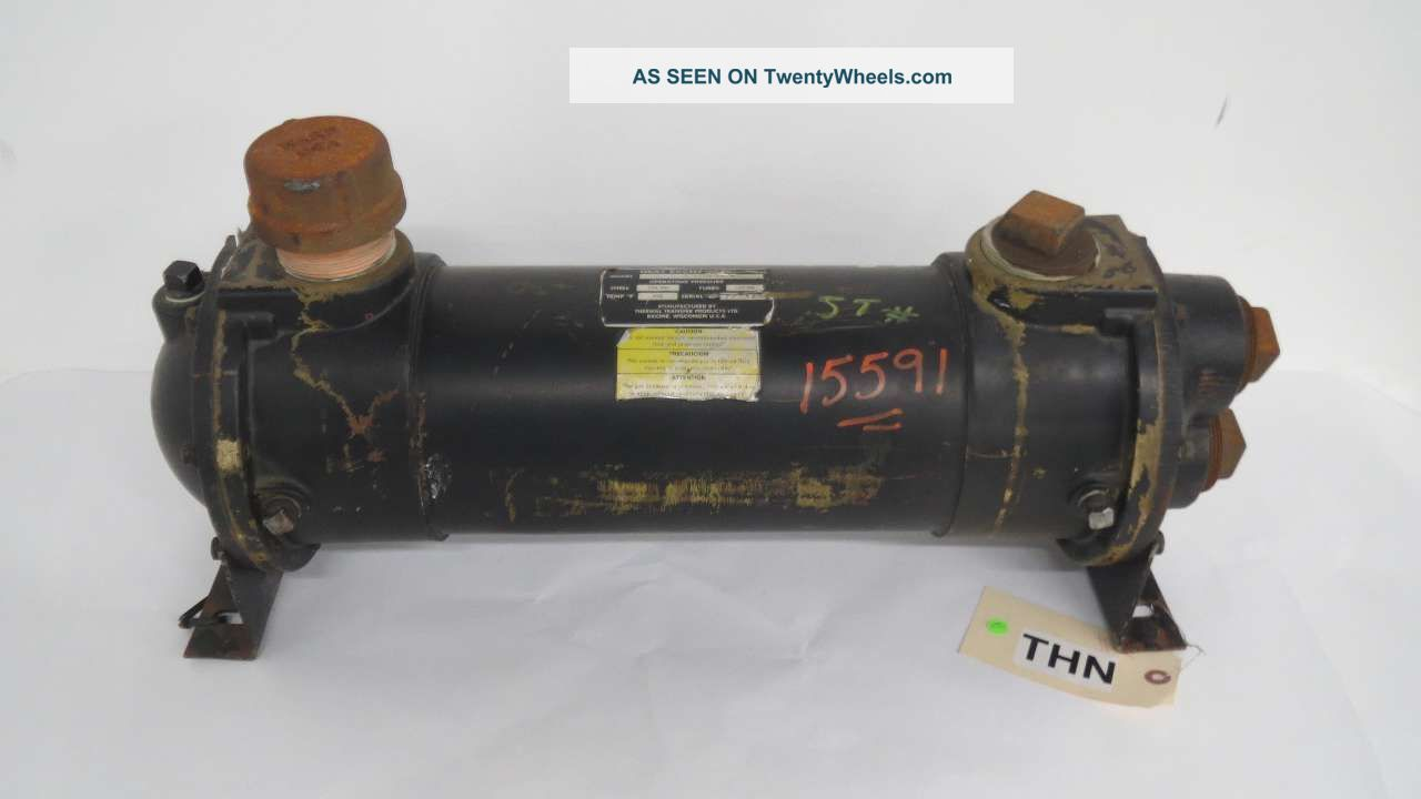 Thermal Transfer B - 1202 - C6 - T Four Pass Fluid Heat Exchanger 2 In B456556 Heating & Cooling Equipment photo