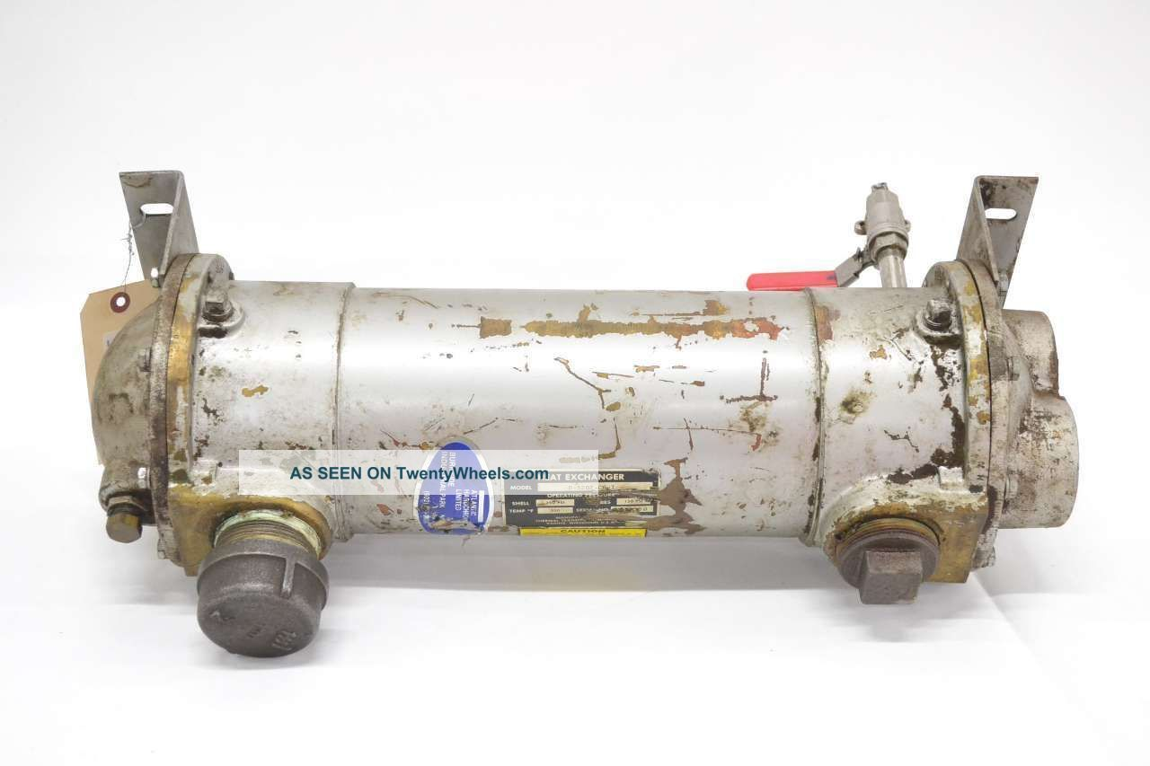 Thermal Transfer B - 1202 - C6 - T Four Pass Fluid Heat Exchanger 2 In B456652 Heating & Cooling Equipment photo