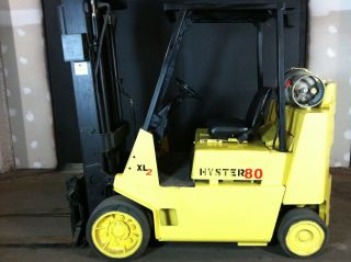 Hyster 8k Boxcar Forklift photo