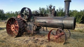 1910 75 Hp Case Steam Tractor photo