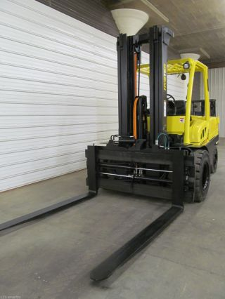 2006 Hyster H120ft,  12,  000 Lb Diesel Forklift,  Three Stage,  3,  275 Hours, photo