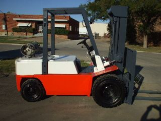 Late Model Dual Drive Nissan Optima Forklift photo