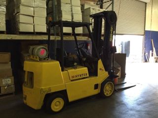 Hyster 80 Xl2 Forklift Lift Truck Cascade Paper Roll Clamp photo