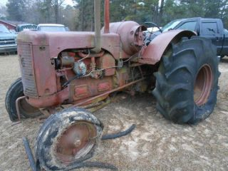 Case Antique Farm Tractor photo
