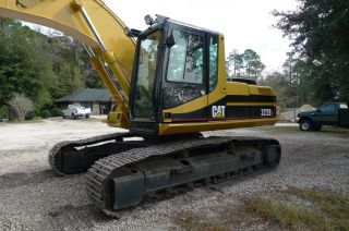 2001 Cat 322bl Crawler Excavator photo