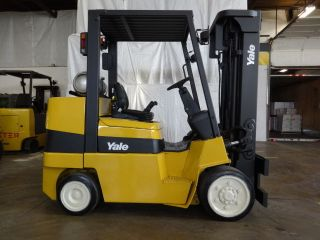 2006 Yale Glc080 8000lb Cushion Lift Truck 42