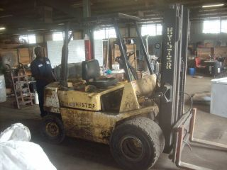 Hyster Forklift. photo