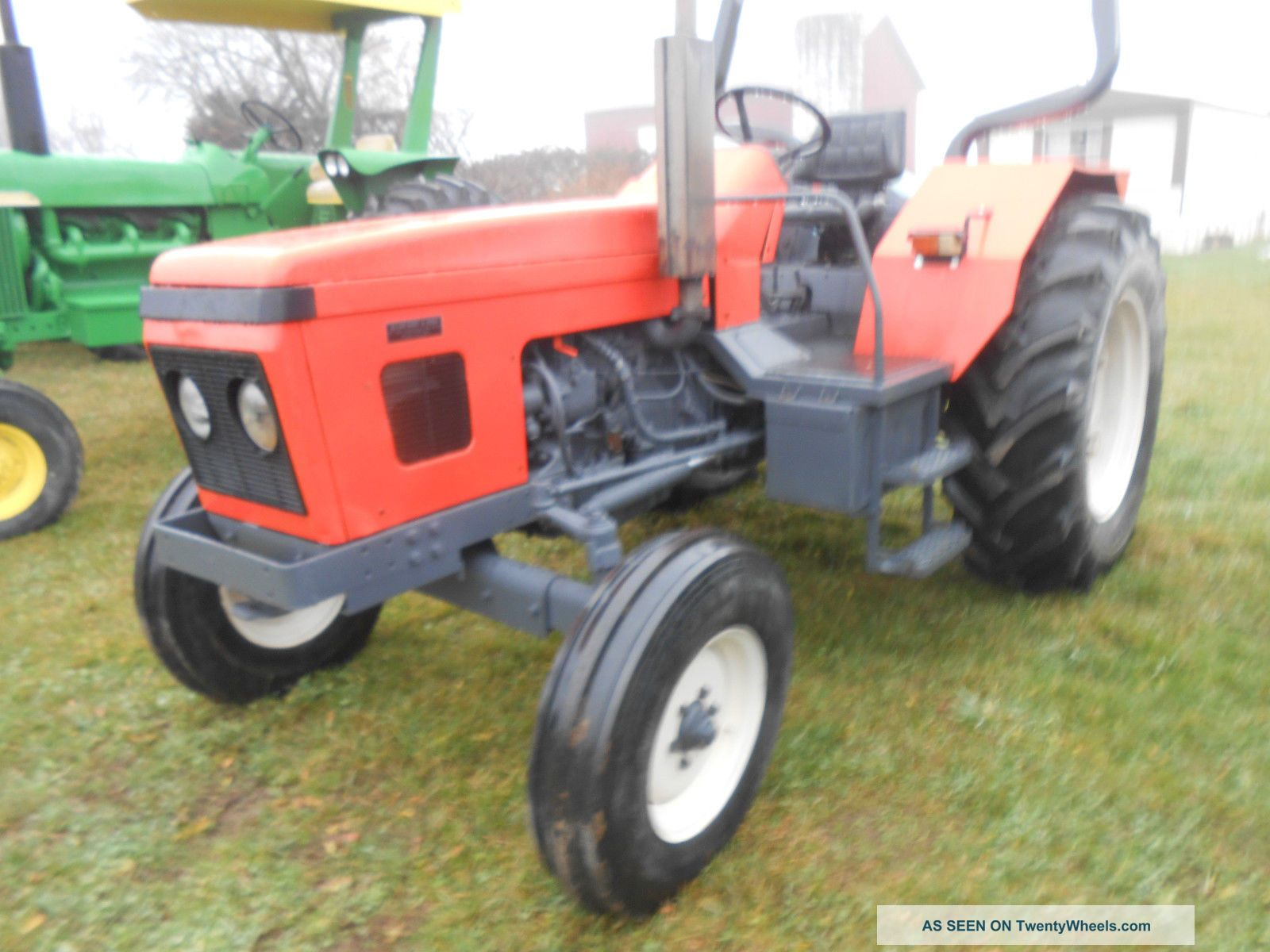 Vintage Front Wheel Drive Tractors : Pin antique tractor zetor a of for sale gbp