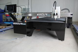 6 ' X12 ' Ez Cut 11000 Series Turn - Key Cnc Plasma Cutting System Includes Training photo
