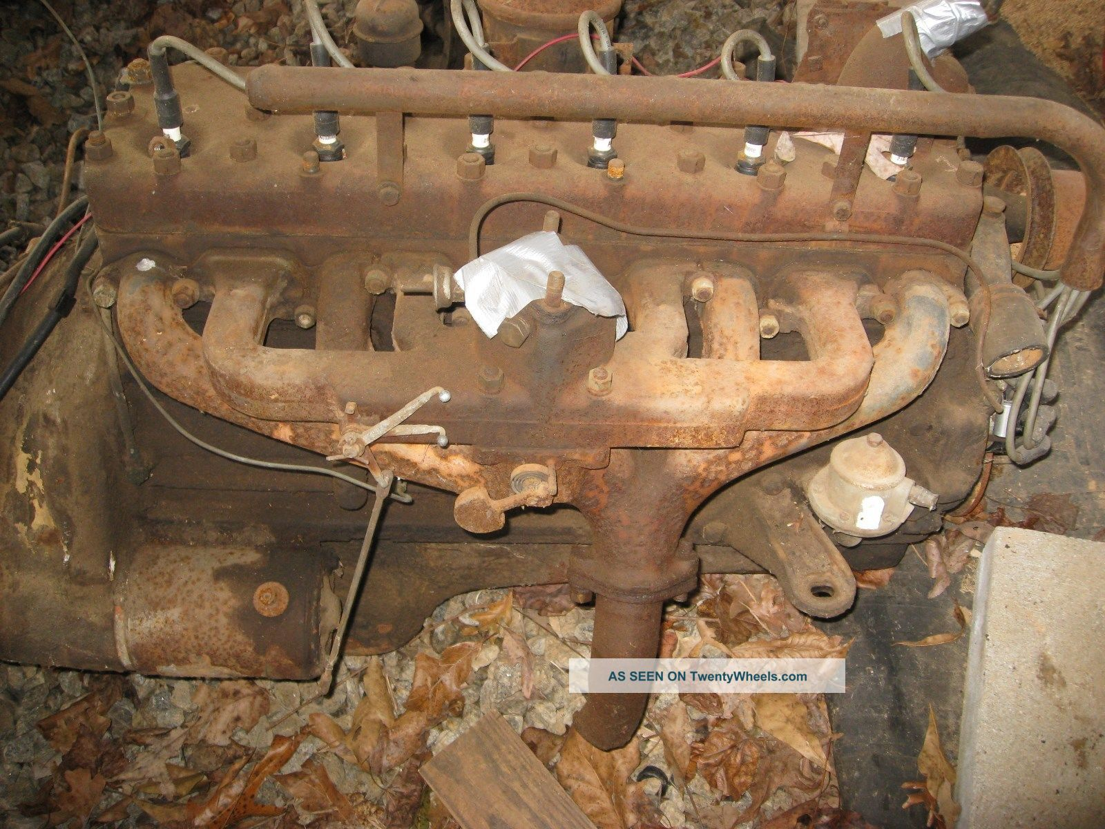 Ford N Funk Conversion Cylinder With Perfect Running Engine Lgw