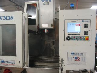 2005 Milltronics Vm16 Cnc Vertical Mill photo