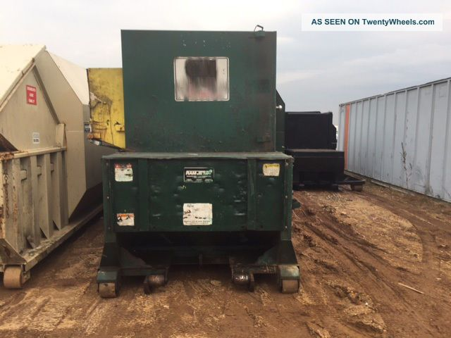 Self Contained Compactor 34 Yd Marathon Rjsc250 Material Handling & Processing photo
