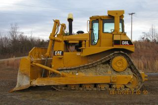 1984 D8l Cat Dozer Paint Great Bearings Good Tracks photo