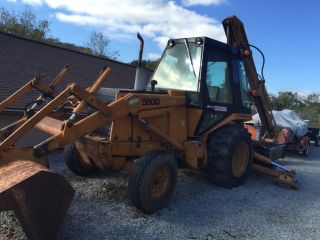 Case 580d Backhoe photo