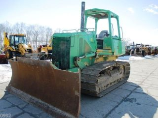 2004 John Deere 700h Crawler Dozer W/6 Way Blade, photo