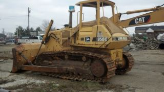 John Deere 850c Dozer photo