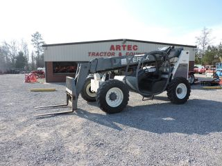 2006 Terex Th644c Telescopic Forklift - Loader Lift Tractor - Very photo