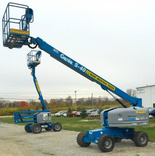 2006 Genie S40 Boom Manlift Aerial Straight Stick Lift Jlg photo