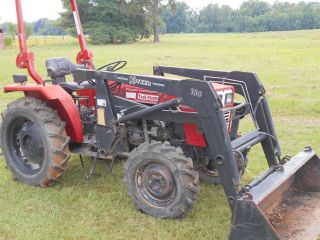 Taskmaster Tm2714 - 4x4 Tractor With Koyker 150 Front End Loader photo