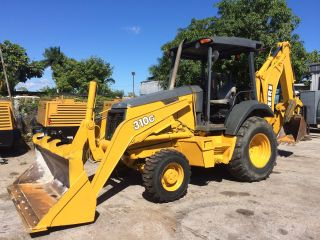 2006 John Deere 310g Backhoe Loader photo