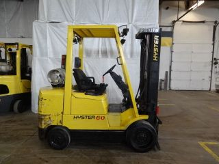 2001 Hyster S60xm 6000lb Cushion Lift Truck 83