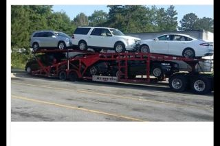 6 Or 7 Car Hauler Car Carrier Trailer photo