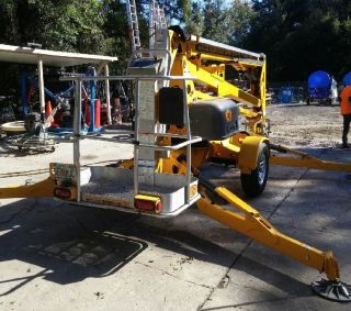 2011 Bil - Jax 4527a Tow Behind Boom Lift photo