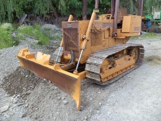 Case 450c Crawler Dozer,  Cat.  Pins And Sprockets Rob.  Cab photo
