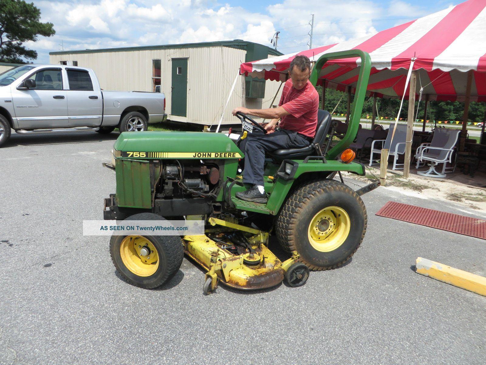 John Deere Compact Utility Tractor Diesel W Belly Mower Lgw