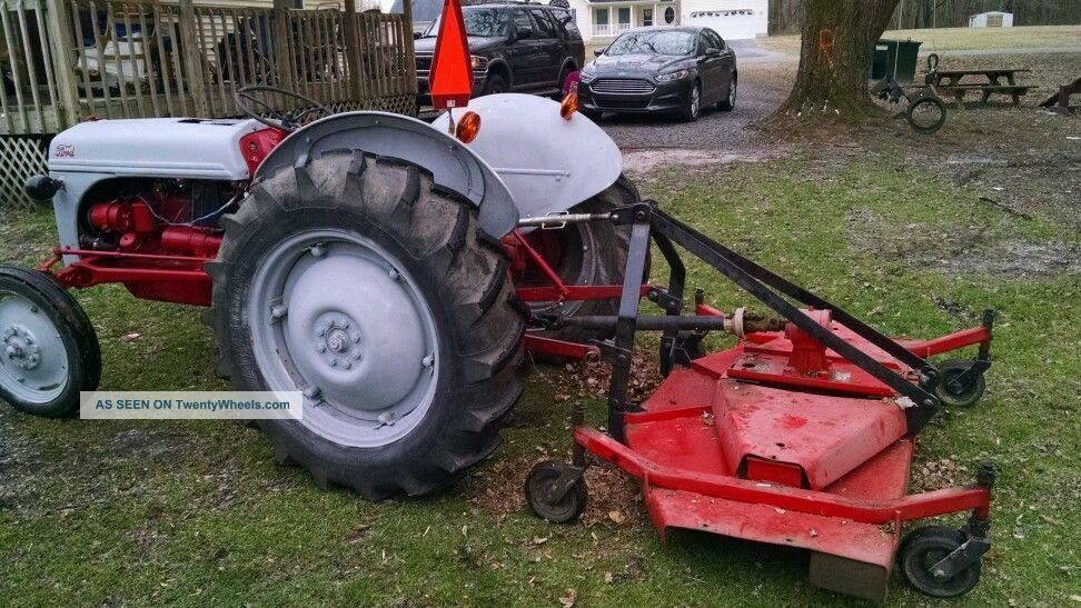 Ford N Tractor With In Finish Mower Lgw