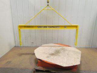 Industrial 1200 Cap Lifting Beam Spreader Bar 64 - 1/2