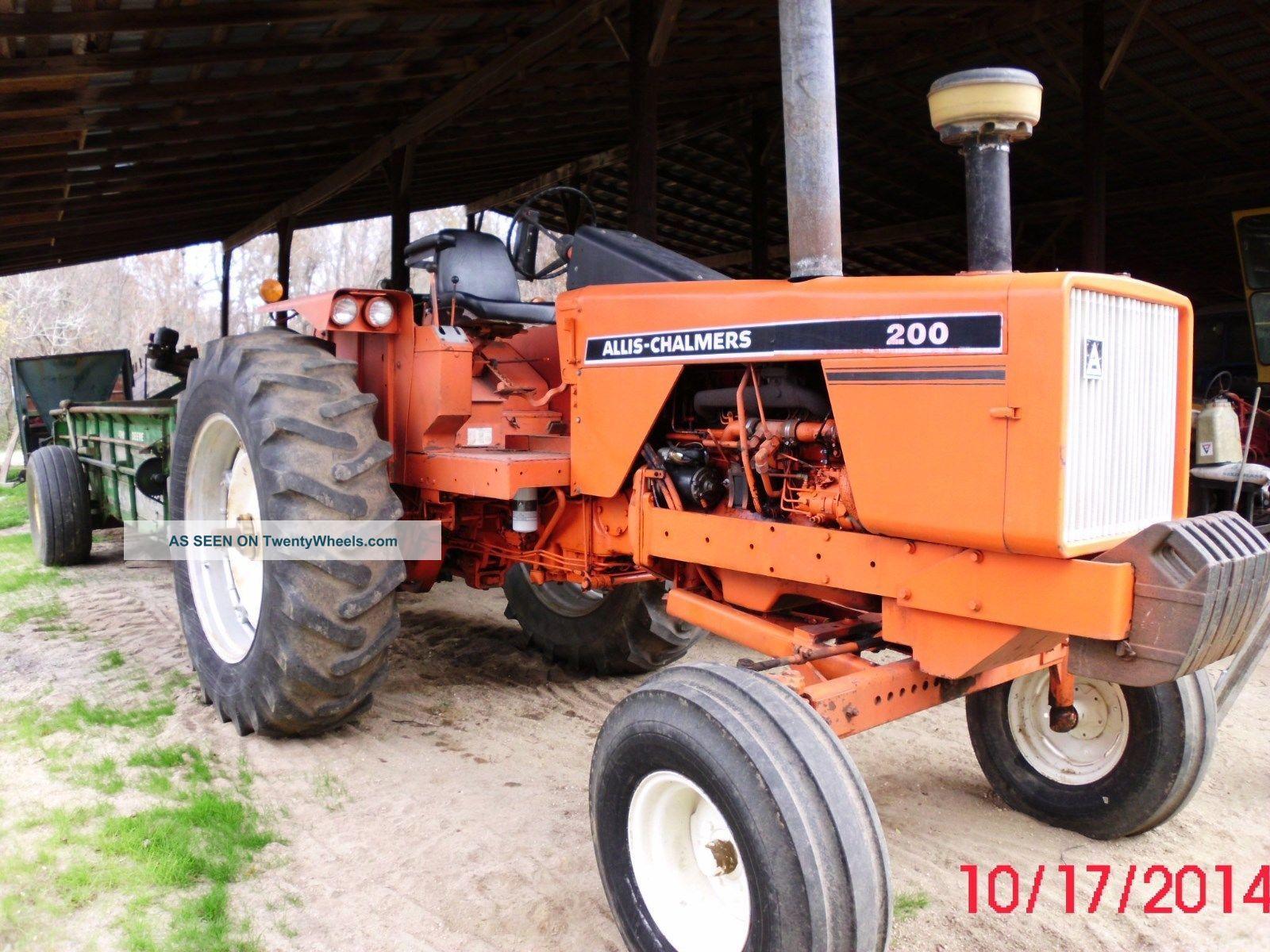 Tractor Pto : Allis chalmers tractor pto hp