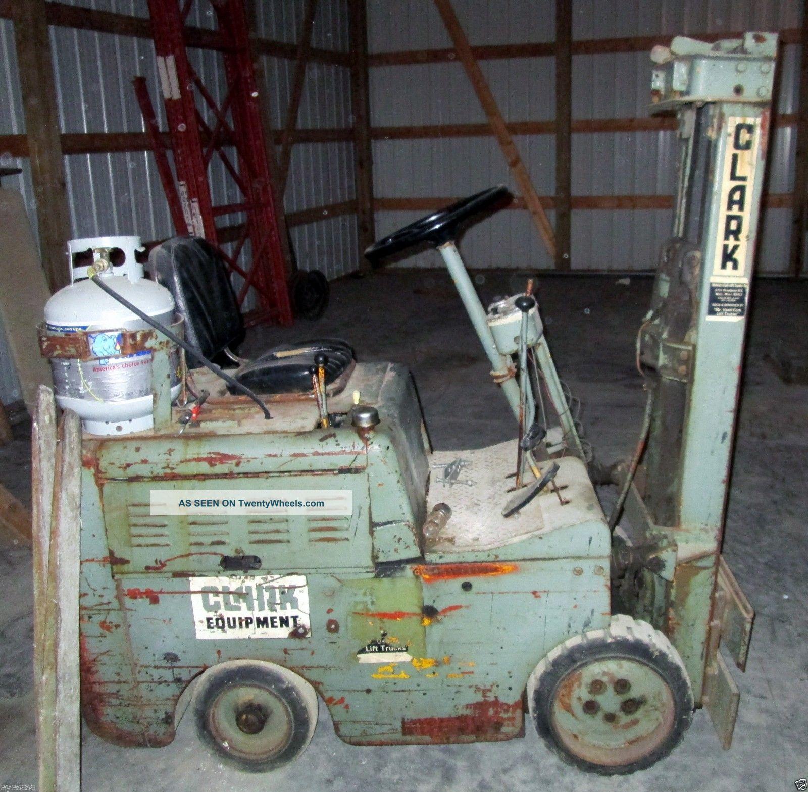 Clark Forklift Identification – Jerusalem House